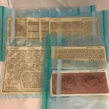 Vintage Craftaid Leatherwork Leather Carving Templates Plastic - Your Choice
