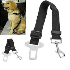 Adjustable Pet Dog Harnesses Seat Belt Lead Restraint Strap Car Safety NEW UK