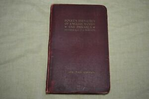 1911 Roget's Thesaurus of English Words and Phrases - Large Type Ed.