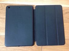 Genuine Apple iPad Mini 1 2 3 Leather Smart Case Black