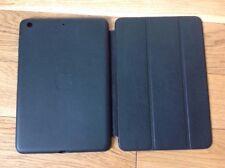 Genuine Apple iPad Mini 1 2 3 Leather Smart Case Black