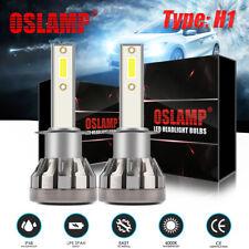 2× H1 LED Headlight Bulb Kit 1500W 225000LM High Beam or Fog Light Xenon 6000K