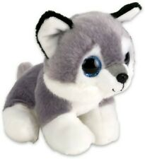 HUSKY PELUCHE PICCOLO HUSKY BIG EYES 15CM.MORBIDISSIMO.IDEA REGALO!