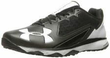 New Other Under Armour Men's Deception Trainer Baseball Shoe Blk/Wht Size 14