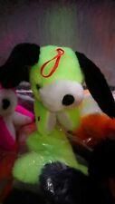 Restposten  Plüsch Neon Hund  36 Stück  11 cm   Multirabatt beachten!!!