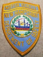 NH New Hampshire Department of Safety Motor Vehicle Patch