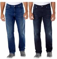 NEW!! Calvin Klein Men's Straight Leg Stretch Jeans Variety