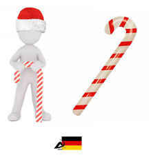 Aufblasbare Zuckerstange Weihnachten Fasching Deko Artikel 90cm Gehstock