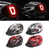 Fahrradhelm MTB Helm mit LED Rücklicht Scooter Helm Radhelm Einstellbarer