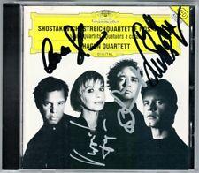 HAGEN QUARTETT Signiert SHOSTAKOVICH Streichquartett 4 11 14 String Quartet CD