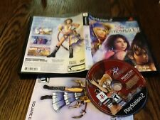 Final Fantasy X-2 (Sony PlayStation 2, 2003) USED RPG PS2 FREE US SHIPPING FUN