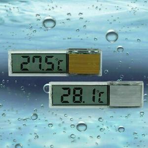 Digital LCD Fish Reptile Aquarium Tank Temp Water Marine T1Y5 R6P0