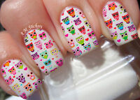Cupcake Nail Art Stickers Transfers Decals Set of 22
