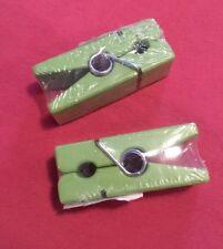 Magnet Klammer 2 Stück Farbe grün