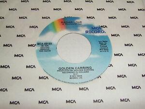 "7"" Golden Earring Radar Love & Just like Vince Taylor - US Top Zustand # 1890"