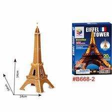 DIY Art Paper EPS Foam 3D Jigsaw Puzzle Eiffel Tower Model