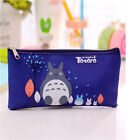 Cartoon Cat Totoro Canvas Pencil Pen Case Pouch Cosmetic Makeup Organizer Bag H%