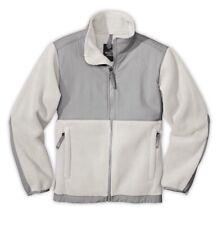The North Face Girls YOUTH KIDS Denali Fleece Jacket Moonlight Ivory Gray Size L