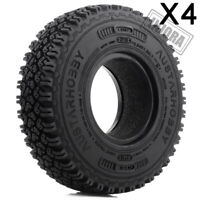 1.55 inch RC Car 1/10 Tire Tyre for MST JIMNY Axial AX90069 D90 TF2 CC01 LC70