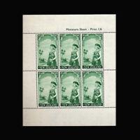 New Zealand, Sc #B54a, MNH, 1958, S/S, Girls Life Brigade Cadet, IDD-B