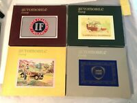 Complete Set Automobile Quarterly Books Volume 12    Numbers 1-4