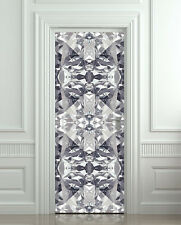 Gloss STICKER for door, wall or fridge - diamond decole, mural, wrap, cover skin