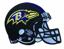 Baltimore Ravens Helmet Iron on Embroidered Patches.