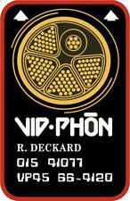Blade Runner Vid-Phone Card prop