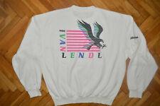 Vtg MIZUNO IVAN LENDL Jumper Track Top EAGLE Tennis Training Jacket Shirt men L