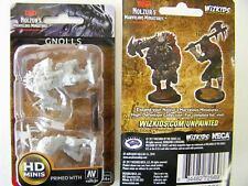 Dungeons & Dragons Nolzur's Marvelous - Unpainted Miniatures Gnolls - D&D