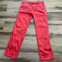 Banana Republic Women's Chino Pants Salmon Size 6 Straight leg
