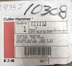One New Cutler Hammer CC2225 Main Breaker