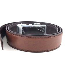 Hampton Men's Leather Belts Innovative Contempo Ratchet Belt Buckle Trim To Fit