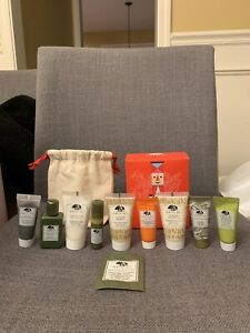 Brand new Origins 10 Pc Holiday Gift Set with Mini Duffle Bag