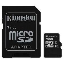 Micro SD HC 16 GB 16 GB Kingston Mikro SD UHS-I U1 C10 Flash Speicherkarte sm GR