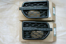 Genuine Land Rover Discovery 4 Black Side vents Landmark Limited Edition