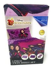 Disney Descendants Best of Both Worlds 3 Piece Microfiber Twin Sheet Set
