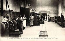 CPA Abbaye d'Igny Chocolaterie. Salle de Torréfaction (491743)