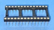 50x Ic-fassung Dip28 Rastermaß 2.54mm Typ Assmann Ar28hzl-tt