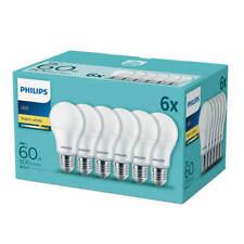 6 Set x Philips E27 LED Lampe Birne 9W warmweiss 2700K wie 60W