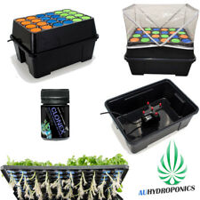 AUTOMATIC CLONE STATION 24 CELL CLONING SYSTEM ROOT SPRAYER W/ CLONEX GEL 50ml