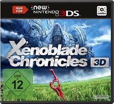Xenoblade Crónicas 3D Nintendo 3DS NEU + OVP