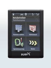 Bury CC9068 Freisprecheinrichtung für Audi A4 (8E, B6, B7) ohne Bose