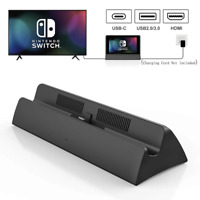 Portable Dock Station for Nintendo Switch with Type C to HDMI TV Adapter USB 3.0