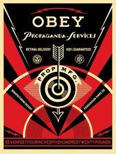 Shepard Fairey - Propaganda Services Eye - Obey Giant - S/N - 2014 - Street Art