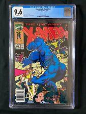 Uncanny X-Men #264 CGC 9.6 (1990) - SUPER RARE NEWSSTAND Edition