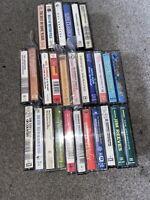 Cassette Tape Bundle/joblot - Country, Pop, Rock