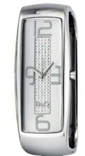 D&G Dolce and Gabbana Intelligence Mirror Dial Ladies Watch DW0233 Silver