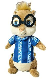 "Build A Bear Simon 10"" Alvin And The Chipmunks Chipwrecked Plush Stuffed Animal"