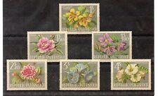 Austria Flores Serie del año 1964 (DA-699)